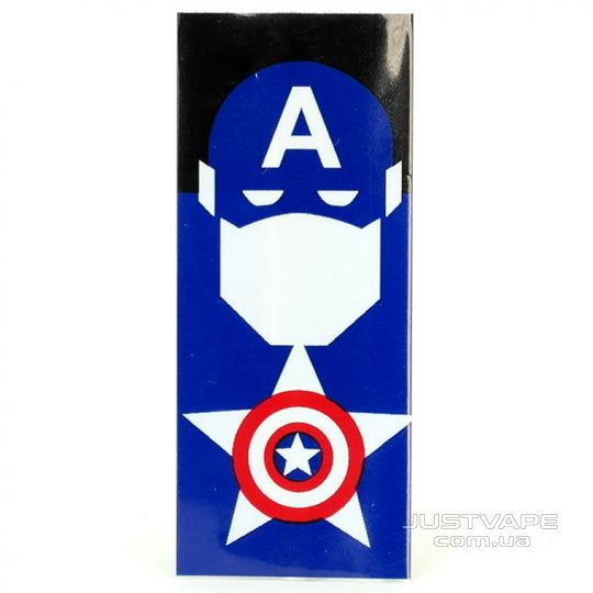 Термоусадка Battery Wrapper Captain America